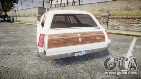 Oldsmobile Vista Cruiser 1972 Rims1 Tree3 para GTA 4 Vista posterior izquierda