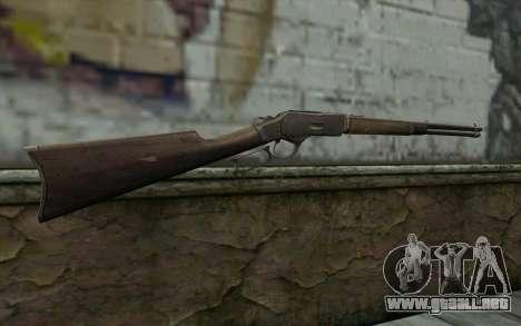 Winchester 1873 v4 para GTA San Andreas segunda pantalla
