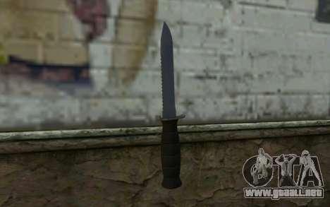 Cuchillo de combate (DayZ Standalone) v2 para GTA San Andreas segunda pantalla