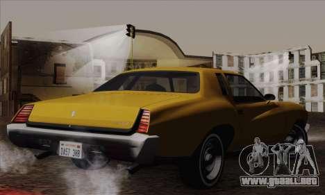 Chevrolet Monte Carlo 1973 para GTA San Andreas left