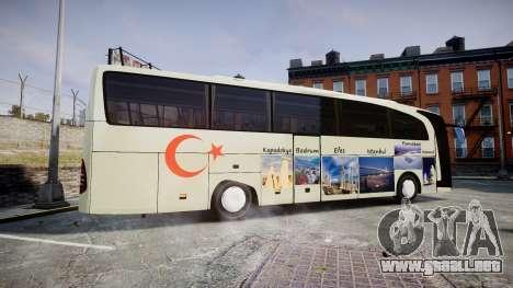 Mercedes-Benz Travego Turkey para GTA 4 left