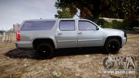Chevrolet Suburban [ELS] Rims2 para GTA 4 left