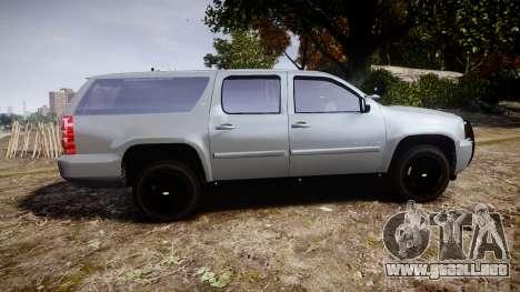 Chevrolet Suburban [ELS] Rims2 para GTA 4 left