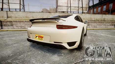 Ruf RGT-8 para GTA 4 Vista posterior izquierda