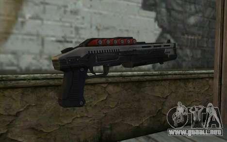 Shotgun from Deadpool para GTA San Andreas segunda pantalla