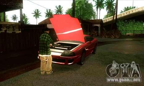 Situación de la vida v3.0 para GTA San Andreas sucesivamente de pantalla