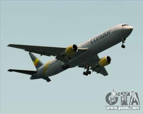 Boeing 767-330ER Condor para la visión correcta GTA San Andreas