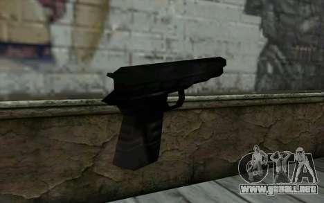 Pistol from Cutscene para GTA San Andreas segunda pantalla