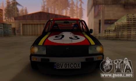 Dacia 1410 Sport para GTA San Andreas vista posterior izquierda