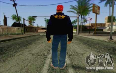 Diablo from GTA Vice City Skin 1 para GTA San Andreas segunda pantalla