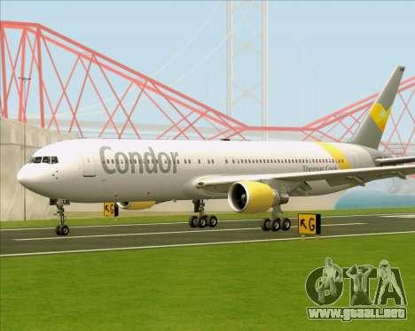 Boeing 767-330ER Condor para GTA San Andreas left