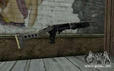 SPAS-12 from Battlefield 3 para GTA San Andreas segunda pantalla