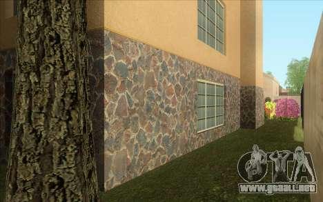 Casa nueva en Las Venturas para GTA San Andreas sucesivamente de pantalla