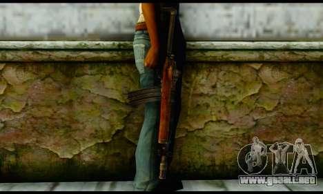 Ruger Mini-14 from Gotham City Impostors v2 para GTA San Andreas tercera pantalla