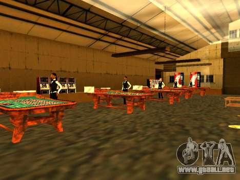 Relax City para GTA San Andreas octavo de pantalla