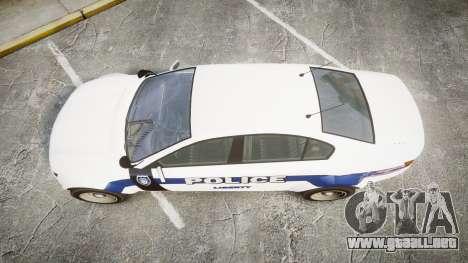 GTA V Cheval Fugitive LS Liberty Police [ELS] Sl para GTA 4 visión correcta