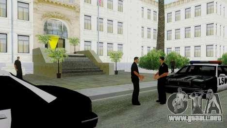 La reactivación de todas las comisarías de polic para GTA San Andreas