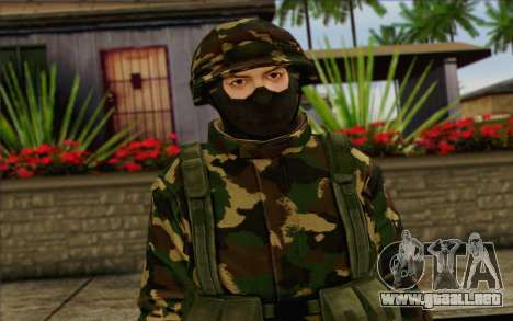 The Expendables 2 Enemy para GTA San Andreas tercera pantalla