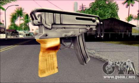 Škorpion vz. 61 para GTA San Andreas segunda pantalla