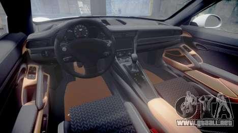 Ruf RGT-8 para GTA 4 vista interior