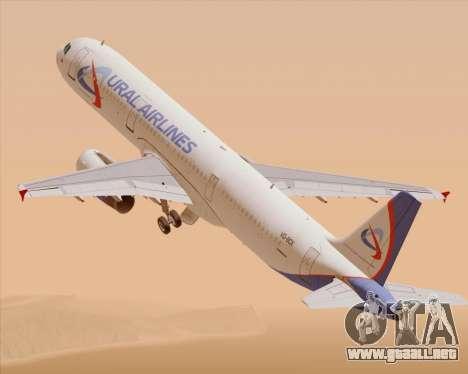Airbus A321-200 Ural Airlines para GTA San Andreas