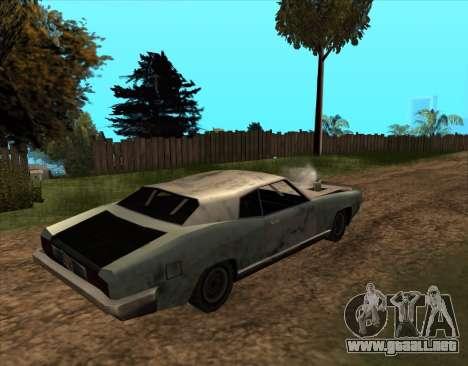Post-Apocalíptico Bucanero para GTA San Andreas left