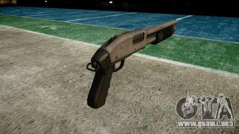 Riot escopeta Mossberg 500 icon3 para GTA 4 segundos de pantalla