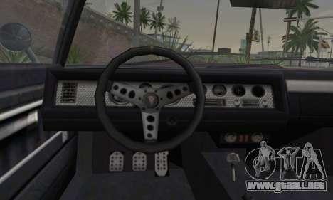 GTA 5 Phoenix para GTA San Andreas vista posterior izquierda