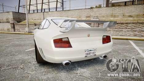 GTA V Pfister Comet para GTA 4 Vista posterior izquierda