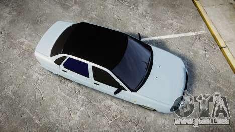 ВАЗ-2170 Instalado Antes para GTA 4 visión correcta