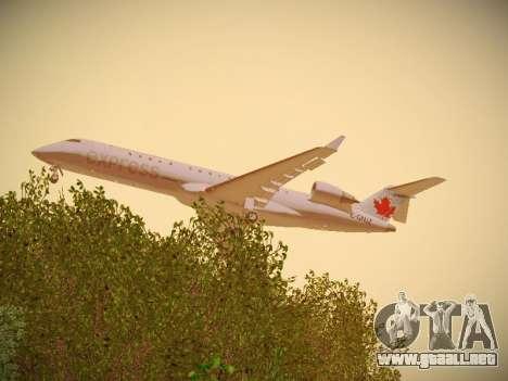 Bombardier CRJ-700 Air Canada Express para la visión correcta GTA San Andreas