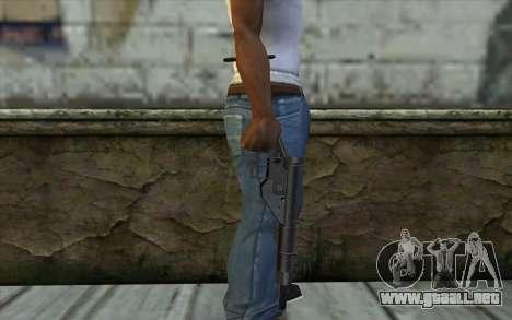 Sten from Day of Defeat para GTA San Andreas tercera pantalla