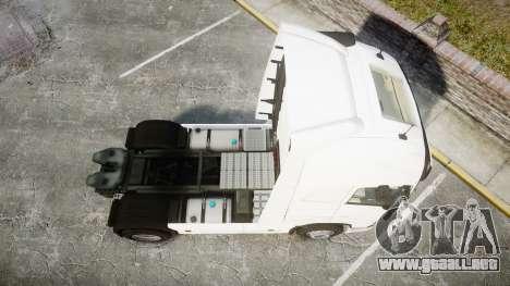 Volvo FH16 para GTA 4 visión correcta