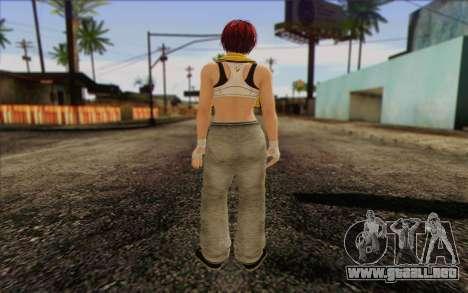 Mila 2Wave from Dead or Alive v18 para GTA San Andreas segunda pantalla