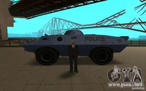 Car Indicator (HP) para GTA San Andreas tercera pantalla