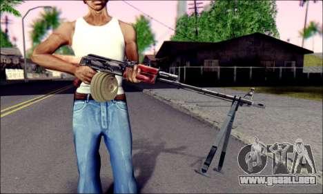 RPK-74 de ArmA 2 para GTA San Andreas tercera pantalla