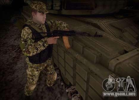 Las flechas de la milicia no molestar para GTA San Andreas tercera pantalla
