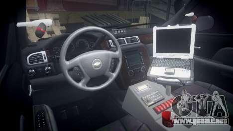 Chevrolet Suburban [ELS] Rims1 para GTA 4 vista hacia atrás