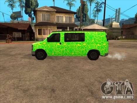 Bravado Paradise para GTA San Andreas left
