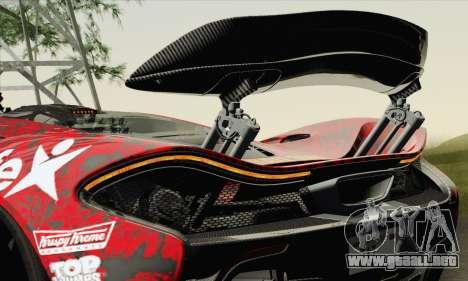 McLaren P1 HQ para las ruedas de GTA San Andreas