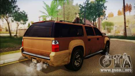 GTA 5 Granger para GTA San Andreas left