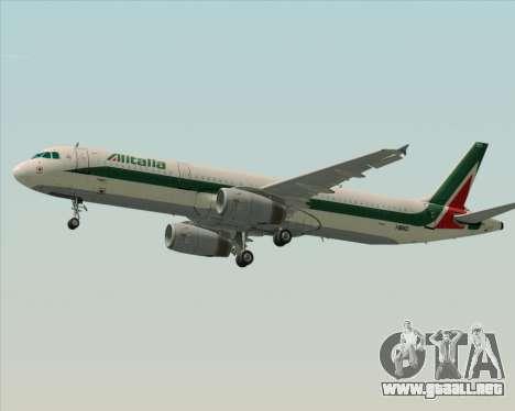 Airbus A321-200 Alitalia para el motor de GTA San Andreas