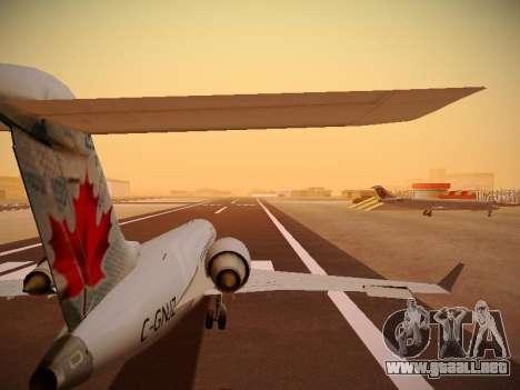 Bombardier CRJ-700 Air Canada Express para vista inferior GTA San Andreas
