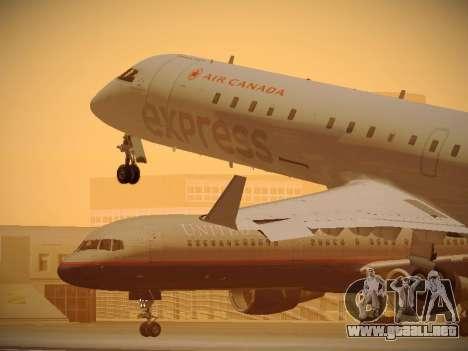 Bombardier CRJ-700 Air Canada Express para GTA San Andreas interior