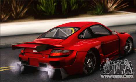 Porsche 997 Turbo Tunable para vista lateral GTA San Andreas