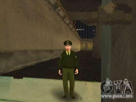 El Teniente Sokolov para GTA San Andreas sucesivamente de pantalla
