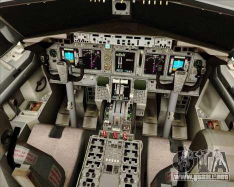 Boeing 737-800 de Gol Transportes Aéreos para GTA San Andreas interior