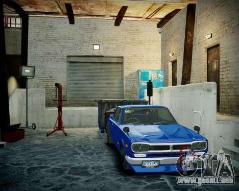 Garaje con nuevo interior Alcalina para GTA 4 sexto de pantalla