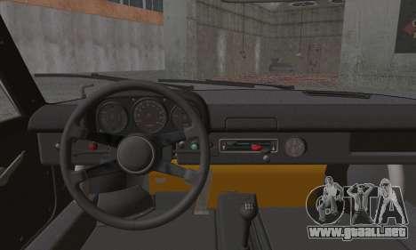 Porsche 914 para GTA San Andreas vista posterior izquierda