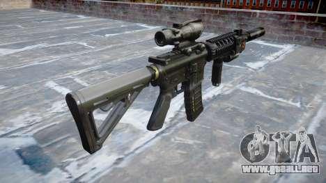 Máquina Táctico M4A1 CQB para GTA 4 segundos de pantalla